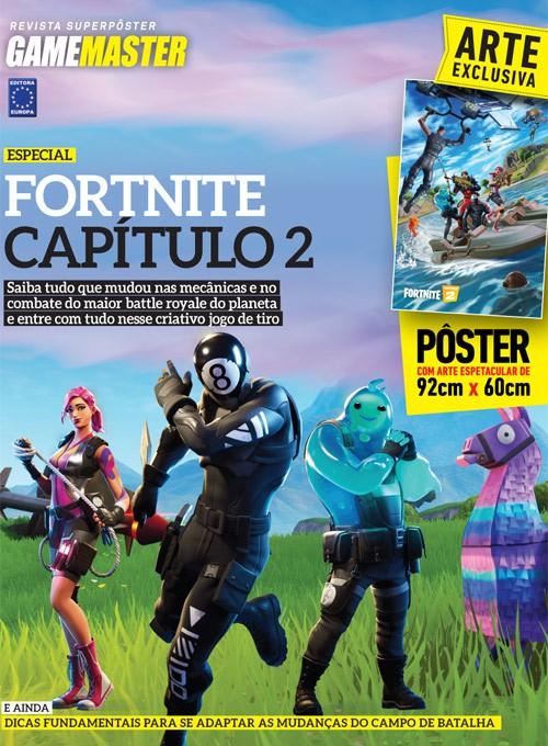 Revista Superpôster - Fortnite Capítulo 2