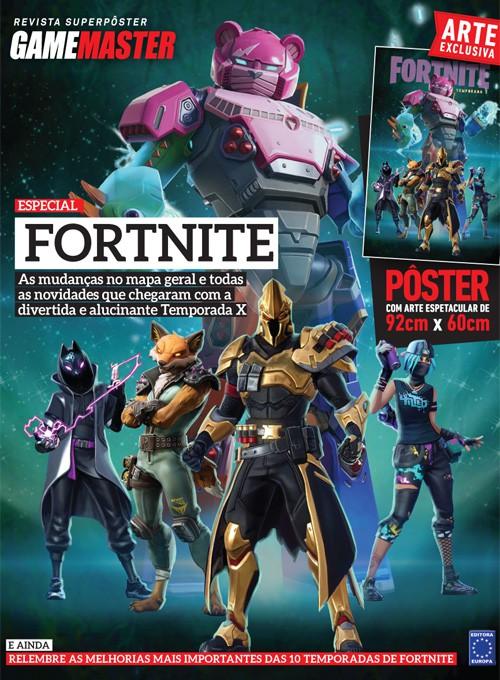 Revista Superpôster - Fortnite Temporada X (Sem dobras)