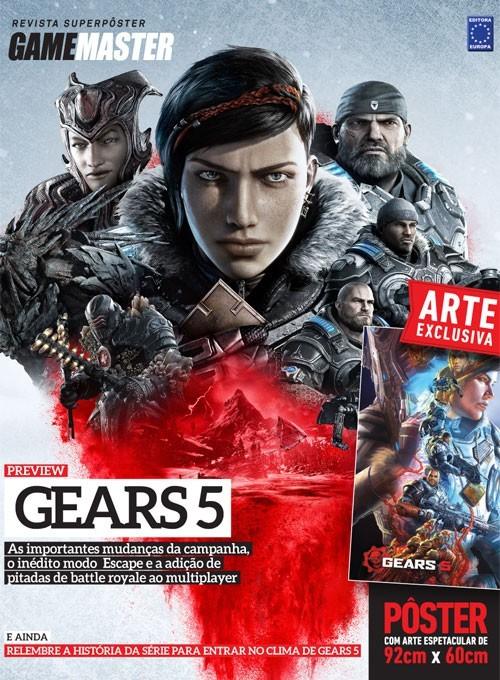 Revista Superpôster - Gears of War 5 (Sem dobras)