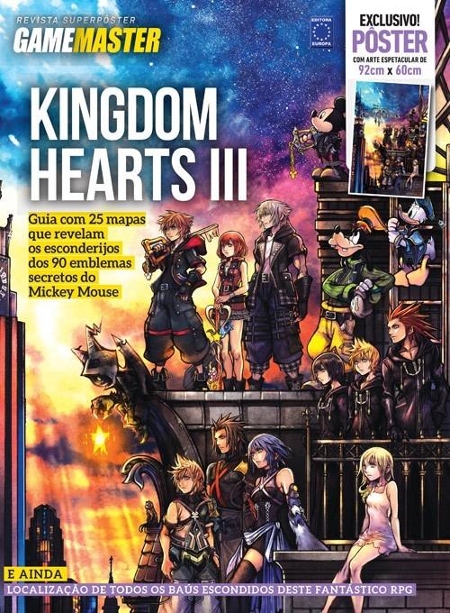 Revista Superpôster - Kingdom Hearts (Sem Dobras)