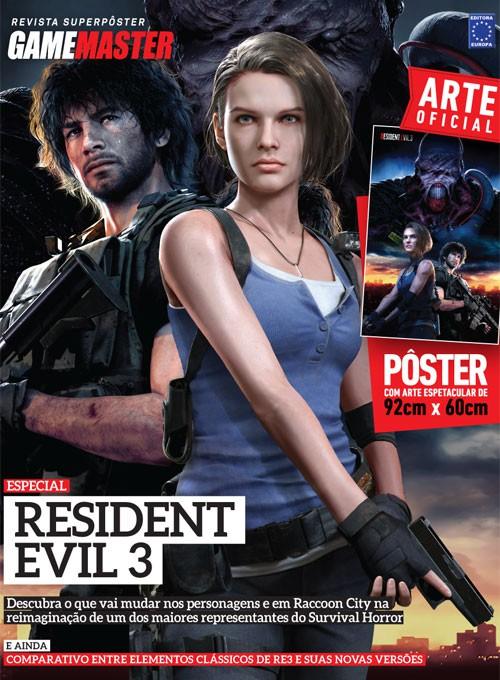 Revista Superpôster - Resident Evil 3 (Sem dobras)