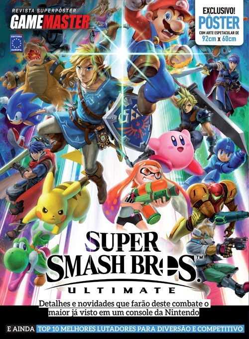 Revista Superpôster - Super Smash Bros Ultimate