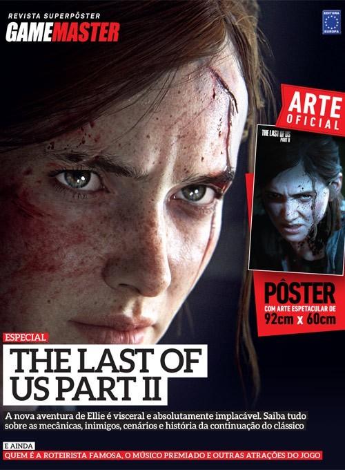 Revista Superpôster - The Last Of Us Parte II #1 (Sem dobras)