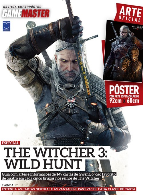 Revista Superpôster - The Witcher 3: Wild Hunt (Sem dobras)