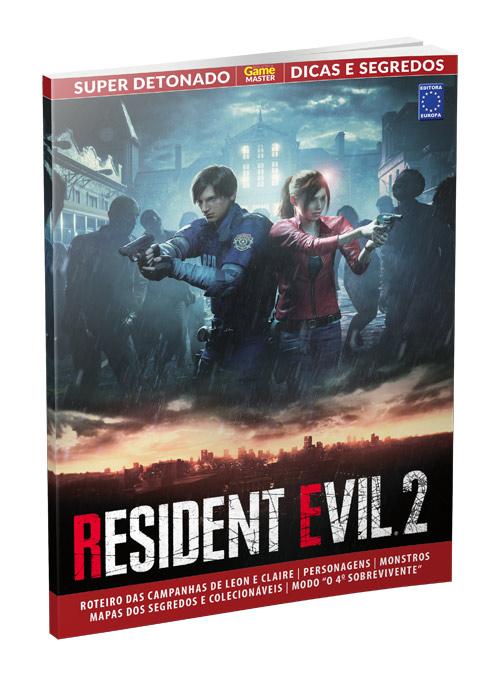 Super Detonado Dicas e Segredos - Resident Evil 2