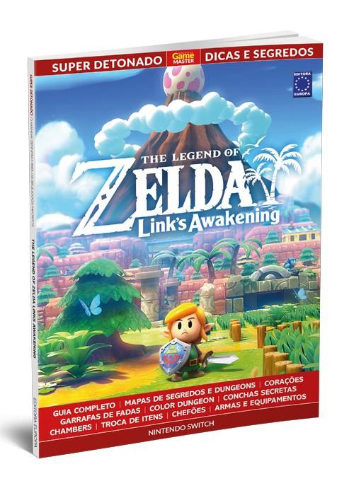 Super Detonado Dicas e Segredos - The Legend of Zelda: Links Awakening