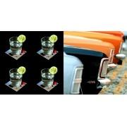 Carros - Conjunto com 4 porta copos