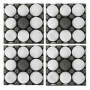 Ovos - Conjunto com 4 porta copos