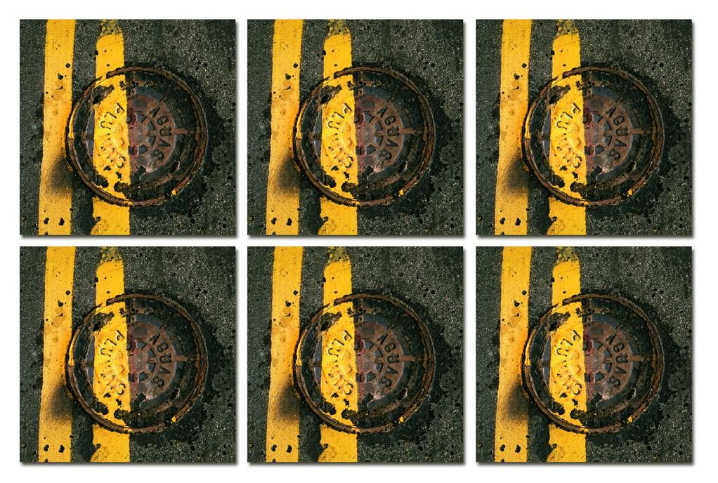 On the Road- Conjunto com 6 porta copos