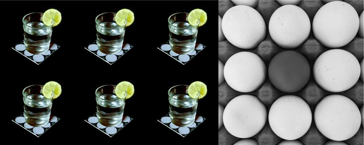 Ovos - Conjunto com 6 porta copos