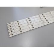 KIT BARRAS DE LED AOC LE43S5970 10 LED'S USADA