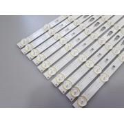 KIT BARRAS DE LED SAMSUNG QN55Q80RAG QN55Q80 USADA