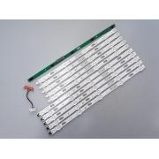 KIT BARRAS DE LED SAMSUNG UN40KU6300G UN40KU6300 USADA
