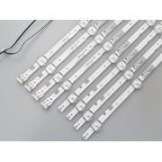 KIT BARRAS DE LED SAMSUNG UN49J5290AG UN49J5290 USADA