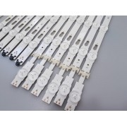 KIT BARRAS DE LED SAMSUNG UN49MU6120G UN49MU6120 USADA