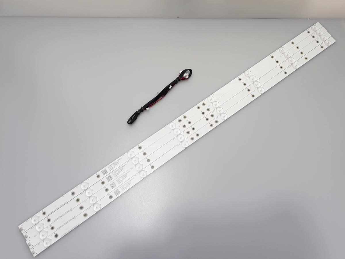 KIT BARRAS DE LED AOC LE43S5970 8 LED'S USADA