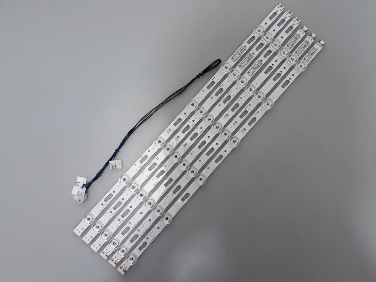 KIT BARRAS DE LED SAMSUNG UN50TU8000G UN50TU8000 USADA
