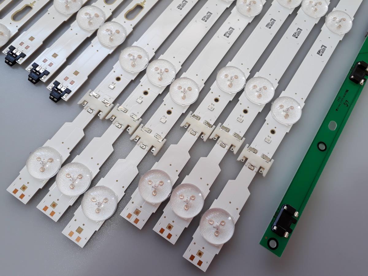 KIT BARRAS DE LED SAMSUNG UN55KU6000G UN55KU6000 USADA