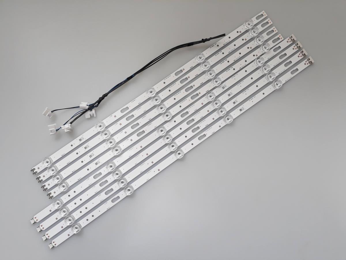 KIT BARRAS DE LED SAMSUNG UN55TU8000G UN55TU8000 USADA