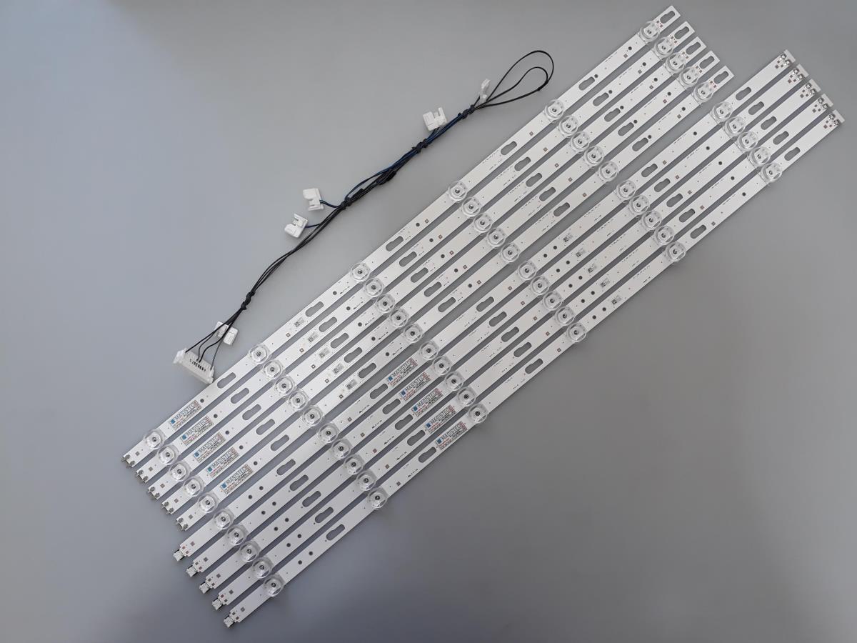 KIT BARRAS DE LED SAMSUNG UN65TU8000G UN65TU8000 USADA