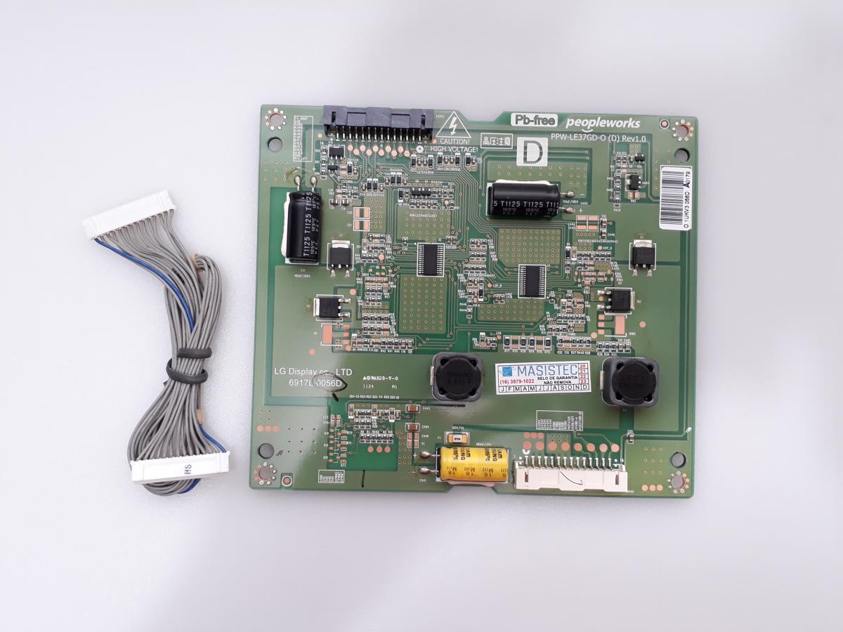 PLACA INVERTER LG 37LV3500 69171L-0056D USADA