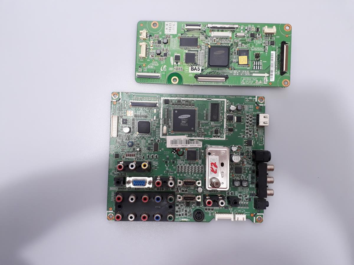 PLACA PRINCIPAL + CONTROLADORA SAMSUNG PL50A450P1 USADA