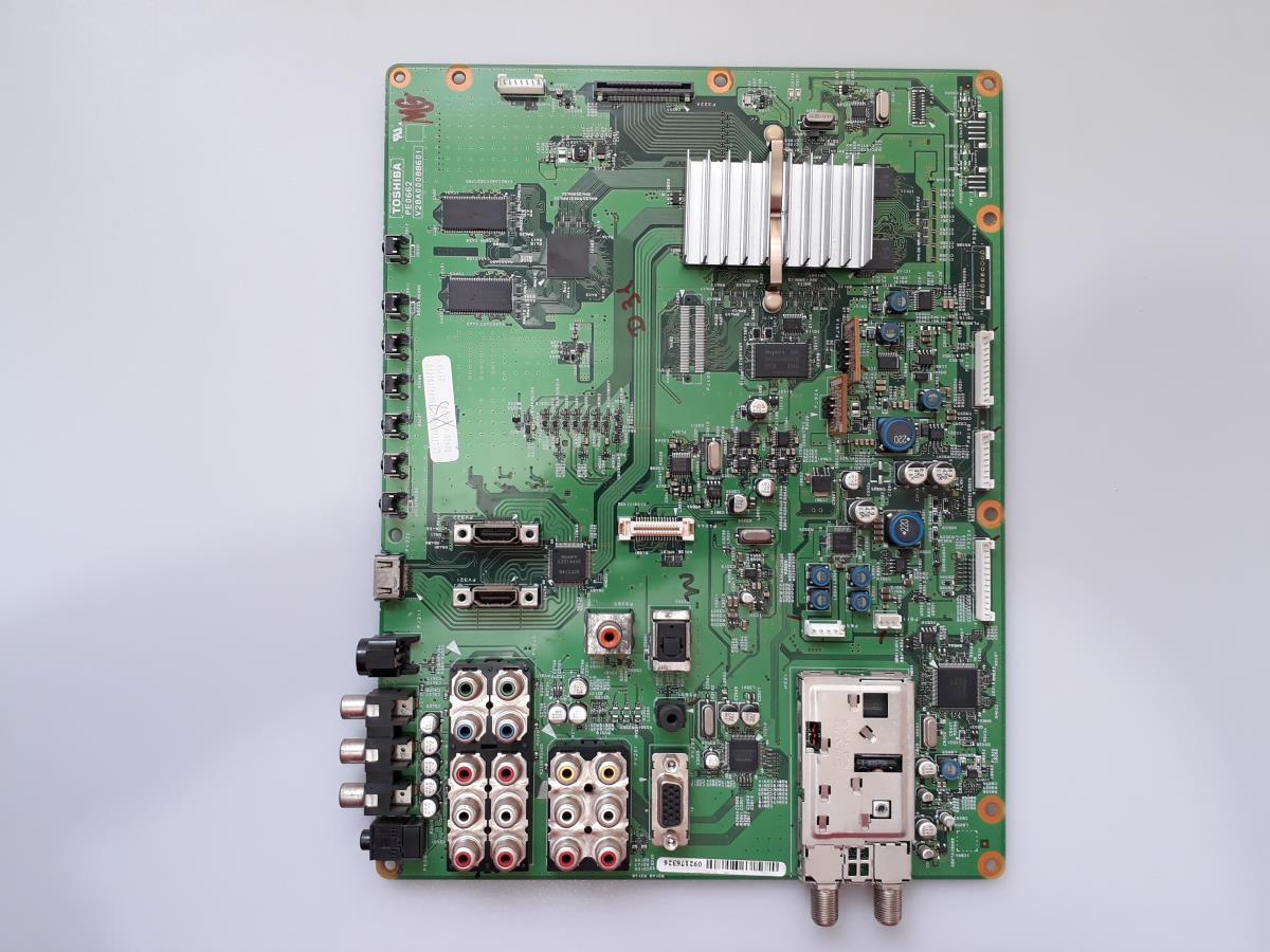 PLACA PRINCIPAL SEMP TOSHIBA 37XV600DA USADA