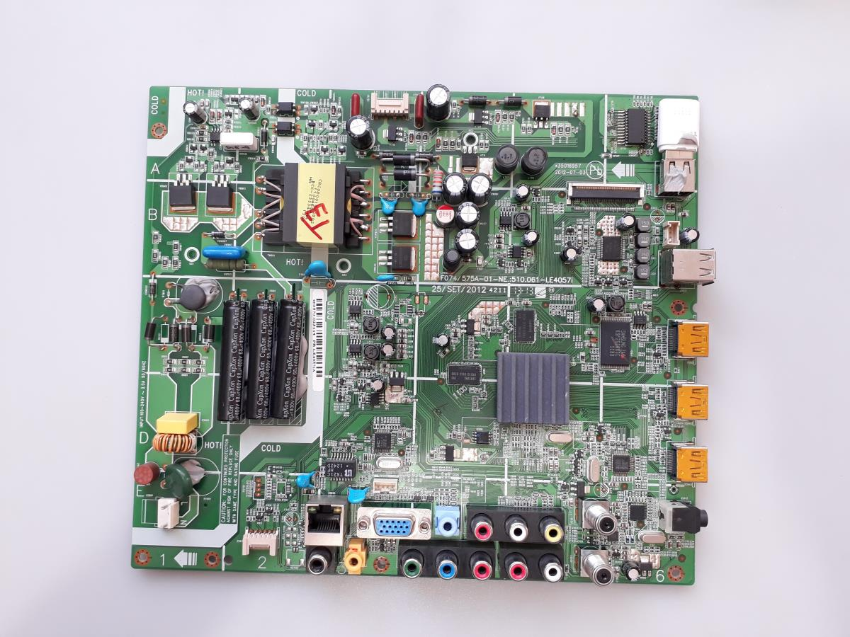 PLACA PRINCIPAL SEMP TOSHIBA LE4057I(A) LE4057IA USADA