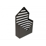 Pacote Caixas Envelope Preto/branco
