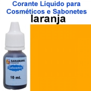 Corante 10 ml Sabonetes Laranja