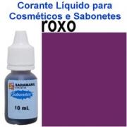 CORANTE LIQUIDO PARA SABONETES Roxo 10 ml