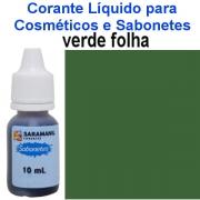 CORANTE LÍQUIDO PARA SABONETES VERDE FOLHA