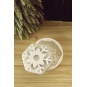 Molde de silicone Floco de Neve G modelo2