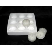 Molde silicone bloco Rechaud 9 cavidades