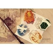 Molde Silicone Brasões HP (Hogwarts)