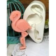 Molde Silicone Flamingo em pé
