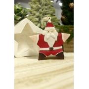 Molde Silicone Papai Noel Estrela