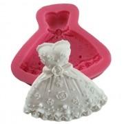 Molde Silicone Vestido Princesa
