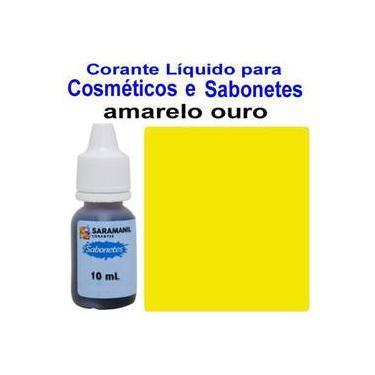 Corante 10ml Sabonete Amarelo Ouro