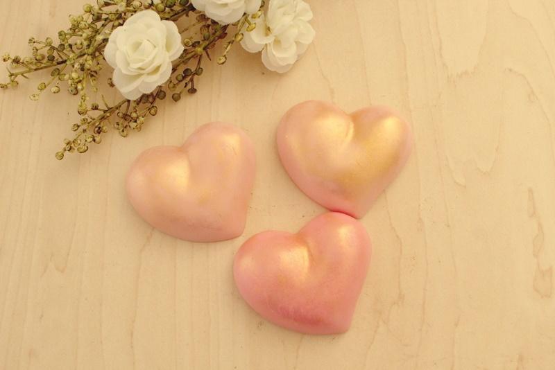 Molde Silicone 03 cavidades Corações Plus Love