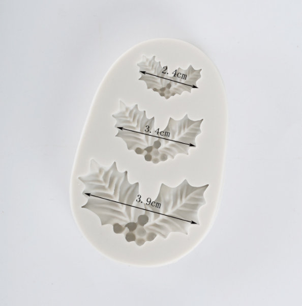 Molde Silicone 3 cavidades Visgo