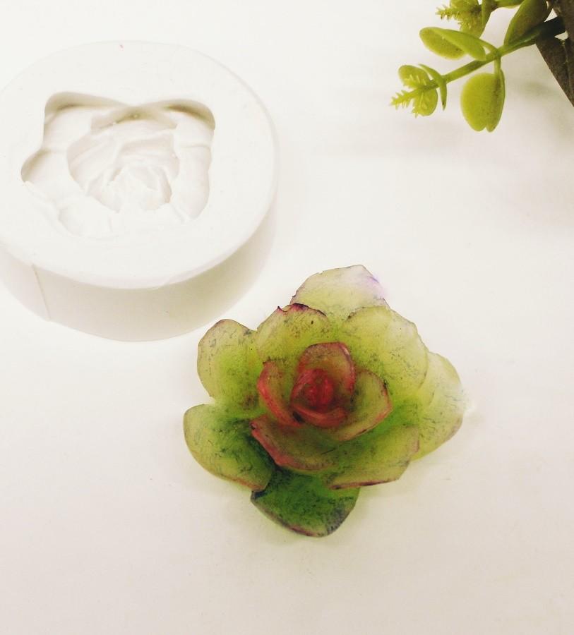 Molde Silicone Mini Rosa Hawai