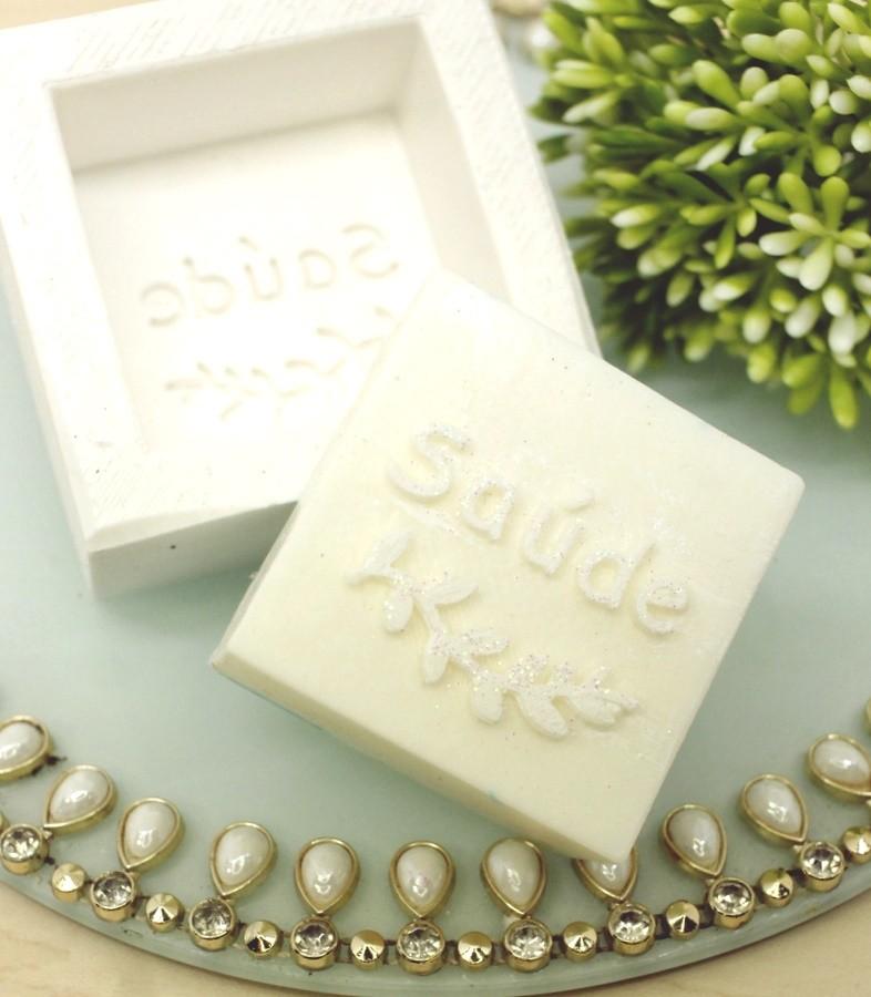 Molde Silicone sabonete Saúde