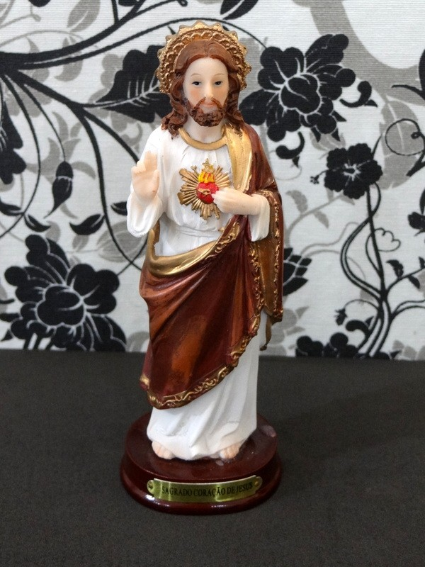 MOLDE SILICONE SANTO SAGRADO CORAÇÃO DE JESUS (GRANDE)