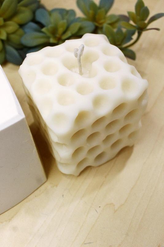 Molde Silicone Vela Cubo Esponja