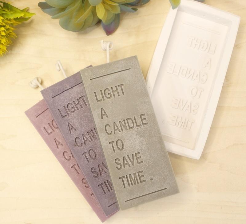 Molde Silicone Vela Light a Candle