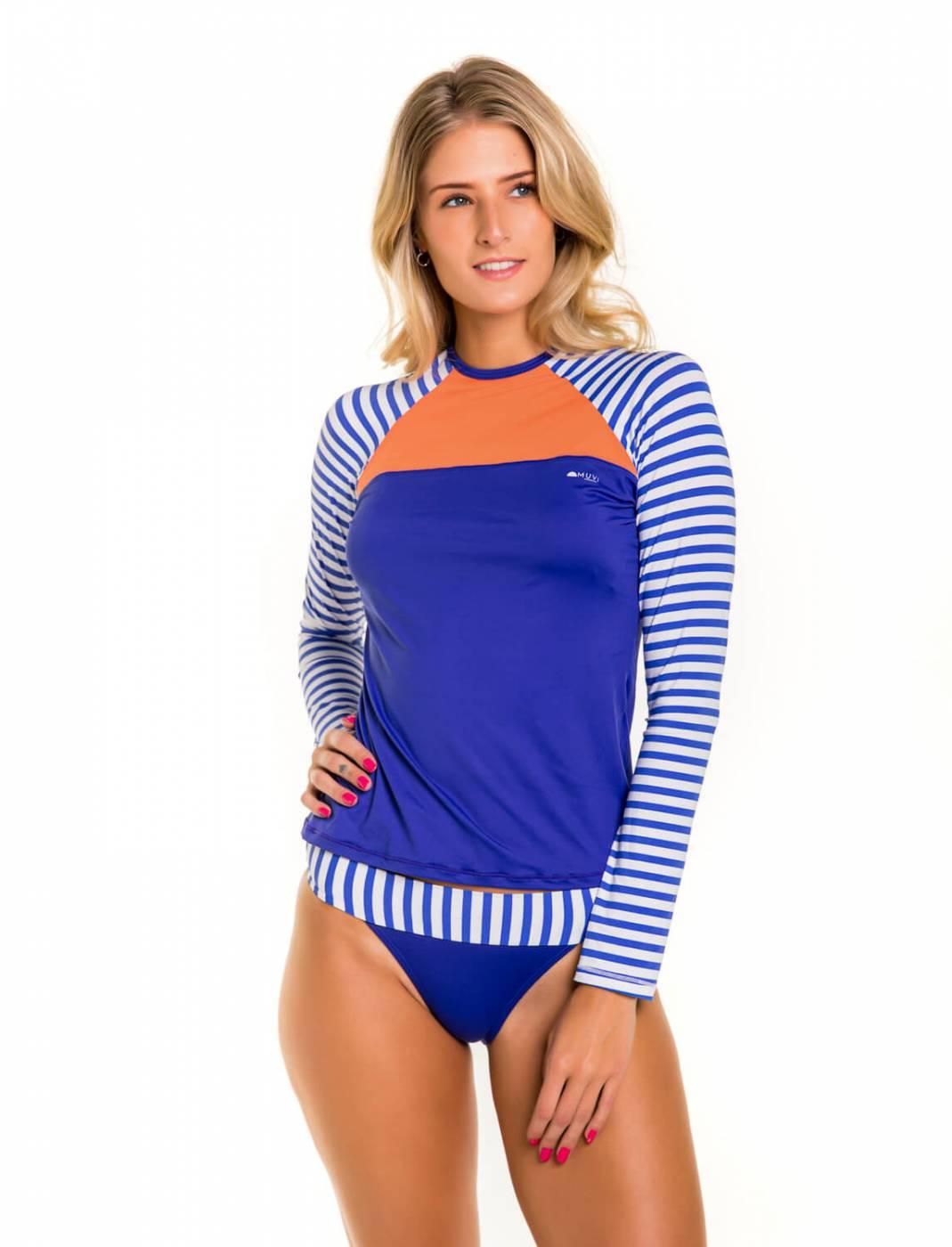Camisa Feminina Slim Proteção Solar FPU50+ Muvi - Canggu