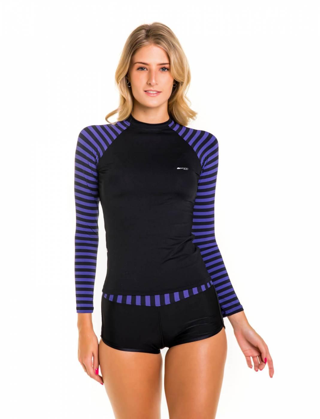 Camisa Feminina Slim Proteção Solar FPU50+ Muvi - Laguna