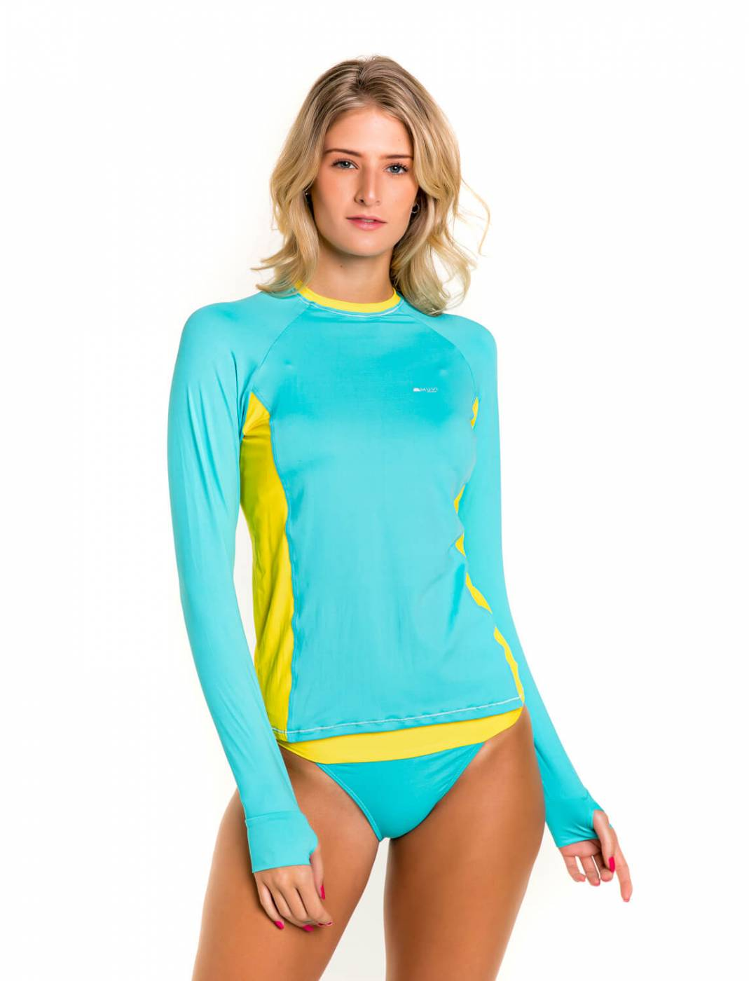 Camisa Feminina Slim Proteção Solar FPU50+ Muvi - Maldivas