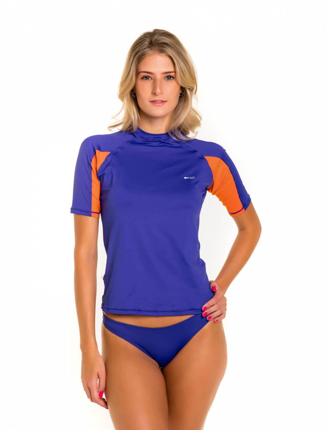 Camisa Feminina Slim Proteção Solar FPU50+ Muvi - Maresias